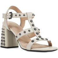 Schoenen Dames Sandalen / Open schoenen Geox D92DTB 00043 Roze