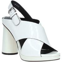 Schoenen Dames Sandalen / Open schoenen Elvio Zanon EJ4408N.C Wit