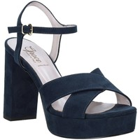 Schoenen Dames Sandalen / Open schoenen Grace Shoes 492PL003 Blauw