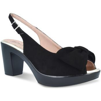 Schoenen Dames Sandalen / Open schoenen Pitillos 2901 Zwart
