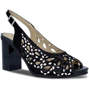 Schoenen Dames Sandalen / Open schoenen Pitillos 5581 Zwart