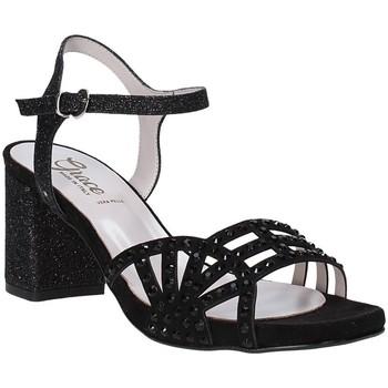 Schoenen Dames Sandalen / Open schoenen Grace Shoes 116V004 Zwart