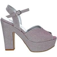 Schoenen Dames Sandalen / Open schoenen Grace Shoes FLY Roze