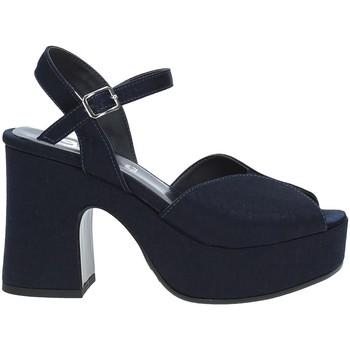Schoenen Dames Sandalen / Open schoenen Grace Shoes TETY Blauw