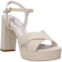 Schoenen Dames Sandalen / Open schoenen Grace Shoes 492PL003 Beige