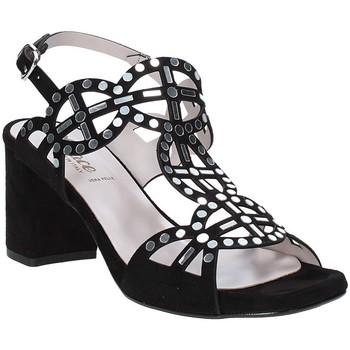 Schoenen Dames Sandalen / Open schoenen Grace Shoes 116002 Zwart
