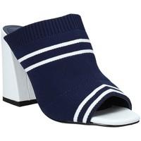 Schoenen Dames Leren slippers Exé Shoes I487F0836H22 Blauw