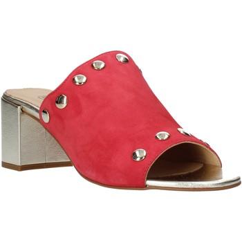 Schoenen Dames Leren slippers IgI&CO 5190622 Rood