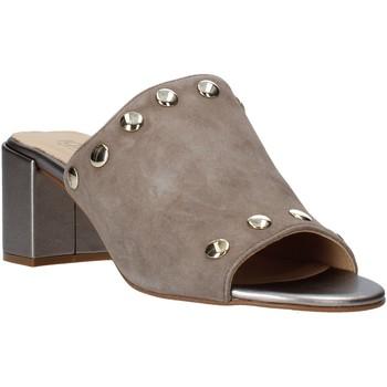 Schoenen Dames Leren slippers IgI&CO 5190633 Beige