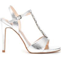 Schoenen Dames Sandalen / Open schoenen Café Noir MC907 Zilver