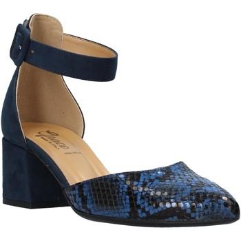 Schoenen Dames Sandalen / Open schoenen Grace Shoes 774005 Blauw