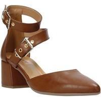 Schoenen Dames Sandalen / Open schoenen Grace Shoes 774004 Bruin