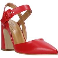 Schoenen Dames Sandalen / Open schoenen Grace Shoes 962G006 Rood