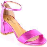 Schoenen Dames Sandalen / Open schoenen Grace Shoes 380008 Roze