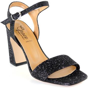 Schoenen Dames Sandalen / Open schoenen Grace Shoes 2384002 Zwart