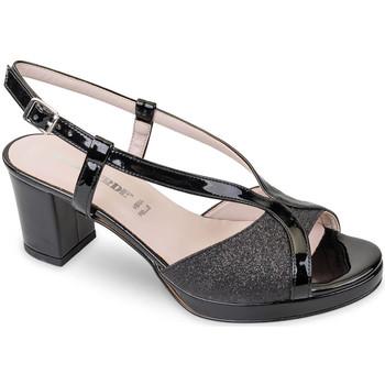 Schoenen Dames Sandalen / Open schoenen Valleverde 45373 Zwart
