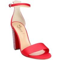 Schoenen Dames Sandalen / Open schoenen Grace Shoes 1569 Rood