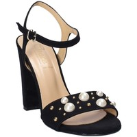 Schoenen Dames Sandalen / Open schoenen Grace Shoes 1396 Zwart