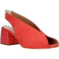 Schoenen Dames Sandalen / Open schoenen Grace Shoes 1576002 Oranje