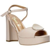Schoenen Dames Sandalen / Open schoenen Grace Shoes 174002 Zwart