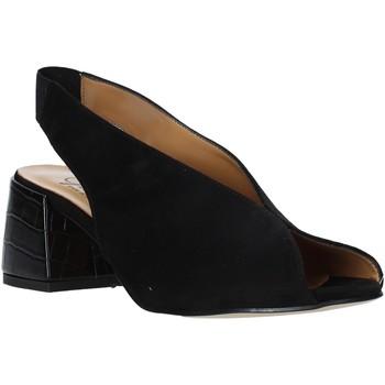 Schoenen Dames Sandalen / Open schoenen Grace Shoes 1576002 Zwart