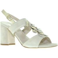 Schoenen Dames Sandalen / Open schoenen Melluso S521 Beige