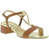 Schoenen Dames Sandalen / Open schoenen Susimoda 2793 Bruin
