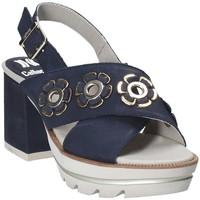 Schoenen Dames Sandalen / Open schoenen CallagHan 22600 Blauw