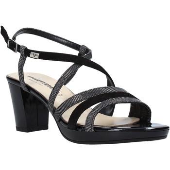 Schoenen Dames Sandalen / Open schoenen Valleverde 38535 Zwart