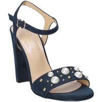 Schoenen Dames Sandalen / Open schoenen Grace Shoes 1396 Blauw