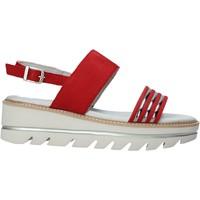 Schoenen Dames Sandalen / Open schoenen Mally 6532P Zwart
