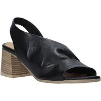 Schoenen Dames Sandalen / Open schoenen Bueno Shoes 9N1300 Zwart