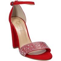 Schoenen Dames Sandalen / Open schoenen Grace Shoes 1388 Rood