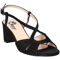 Schoenen Dames Sandalen / Open schoenen Grace Shoes 4011 Zwart