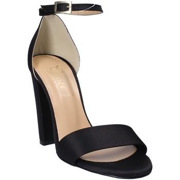 Schoenen Dames Sandalen / Open schoenen Grace Shoes 1392 Zwart