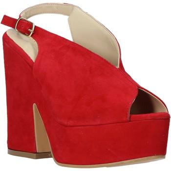 Schoenen Dames Sandalen / Open schoenen Esther Collezioni ALBA 107 Rood
