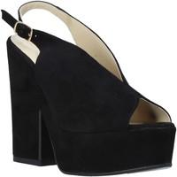 Schoenen Dames Sandalen / Open schoenen Esther Collezioni ALBA 107 Zwart