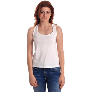 Textiel Dames Mouwloze tops Fornarina BE175L04JG0709 Wit
