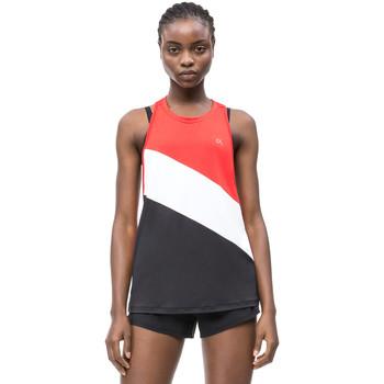 Textiel Dames Mouwloze tops Calvin Klein Jeans 00GWS9K150 Zwart