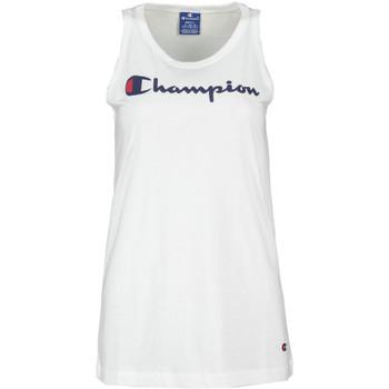 Textiel Dames Mouwloze tops Champion 111791 Wit
