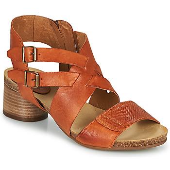 Schoenen Dames Sandalen / Open schoenen Casta ERVA Oranje