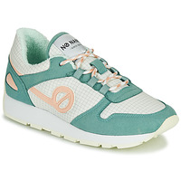 Schoenen Dames Lage sneakers No Name CITY OPEN Groen / Roze