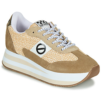 Schoenen Dames Lage sneakers No Name FLEX M JOGGER Bruin / Beige