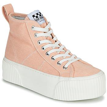 Schoenen Dames Hoge sneakers No Name IRON MID Roze