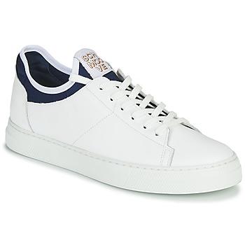 Schoenen Heren Lage sneakers Schmoove SPARK NEO Wit / Blauw