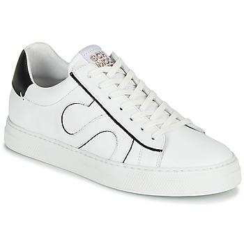 Schoenen Heren Lage sneakers Schmoove SPARK MOVE Wit / Zwart