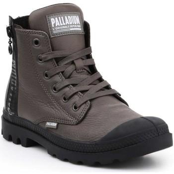 Schoenen Dames Hoge sneakers Palladium Pampa UBN ZIPS 96857-213-M brown