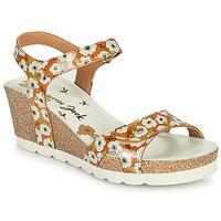 Schoenen Dames Sandalen / Open schoenen Panama Jack JULIA GARDEN Geel