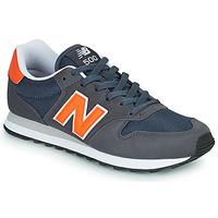 Schoenen Heren Lage sneakers New Balance 500 Blauw / Oranje