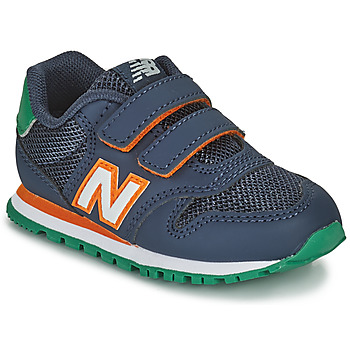 Schoenen Jongens Lage sneakers New Balance 500 Blauw / Oranje